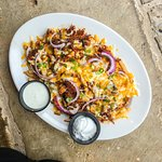 Treat yourself to our cheese fries