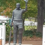 The great man Sir Donald Bradman.