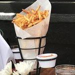 French Fries - Nice Order, comes with two dips