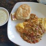 Crawfish Omelette