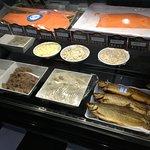 Smoked fish & salads