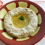 Baba Ganousch (Made of Mashed Egglant with Yoghurt, Tahina Sauce and some spices