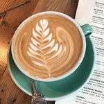 Beautifully made cappuccino