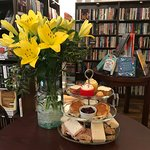 Enjoy an Afternoon Tea among the books