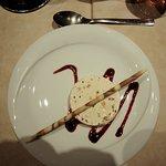 Dessert glace au nougat