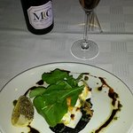 Mushroom with Spinach & Feta Cheese Starter