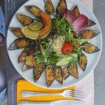 18 moules gratinees à l apéritif entre amis  Sèches et parillada de poisson  un délice !!!