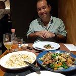 Chop suey fantástico ; guioza espetacular