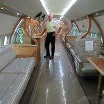 Inside Wayne's private jet