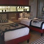 Красивый интерьер в номере отеля