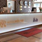 Foto de Hotel Muller Restaurant Acht-Eck