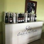 Alguns dos vinhos
