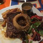 Excellent rump steak
