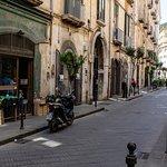 De små gader i Salerno