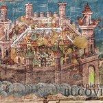 """The siege of Constantinople"" - Moldovita Monastery"