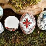 Painted eggs & traditions in Bucovina