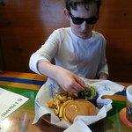Kids burger.