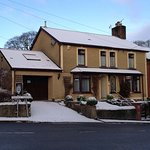Oakfield B&B in the snow