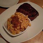 Aussie Mac n' Cheese e New York Strip Steak