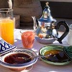 Sunny Breakfast on #RiadCamilia RooftopTerrace