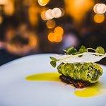 Cabbage roll, tasting menu