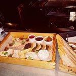 Berts bar cheese board...amazing.