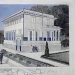 Wien museum, Otto Wagner, modern villa