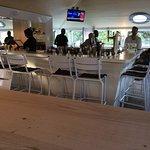Red Herring upstairs bar. Beach bar