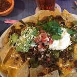 Nachos $14 - way too much for 1-2 people! Bring a baseball team!