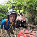Going through the mud - make sure your GoPro is on