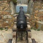Castelo do Queijo situado em Matosinhos, próximo ao Porto em Portugal.