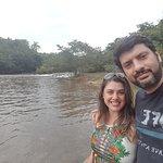 Rio no fim da trilha.