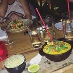 """Tiger prawn curry """"Moqueca camarão"""""""