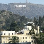 The iconic Hollywood sign seen from Hollywood/Highland