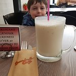 My nine year old son loved the milkshakes... almost as much as I did.