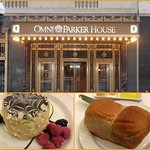 Omni Parker House home of Parker rolls and Boston cream pie