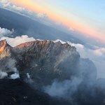 Atop Mount Merapi