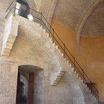 very similar to the Torres de Serranos on the inside