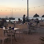 Sunset dining at Hadicurari