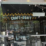 Photo of CRAFT & DRAFT brewpub and whiskey