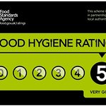 yes we are shouting about our 5 star rating quality food and service