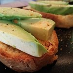 This week's special. Avo on Toast..... YUM!