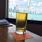 Vista para Miami...