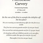 Why don't you try our new Carvery?