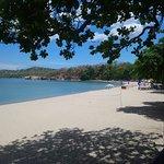 Beach at Terazza (20 mins away)
