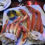 Snow crab and Dungeness crab