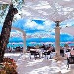 The Bajan Blue Restaurant at Sandy Lane