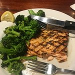 The superb Grilled Salmon