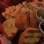 Tabua de frios (queijos e embutidos)