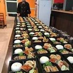 รับทำเบนโตะเซตอาหารกลางวันด้วย ที่ประชุม เล็กใหญ่